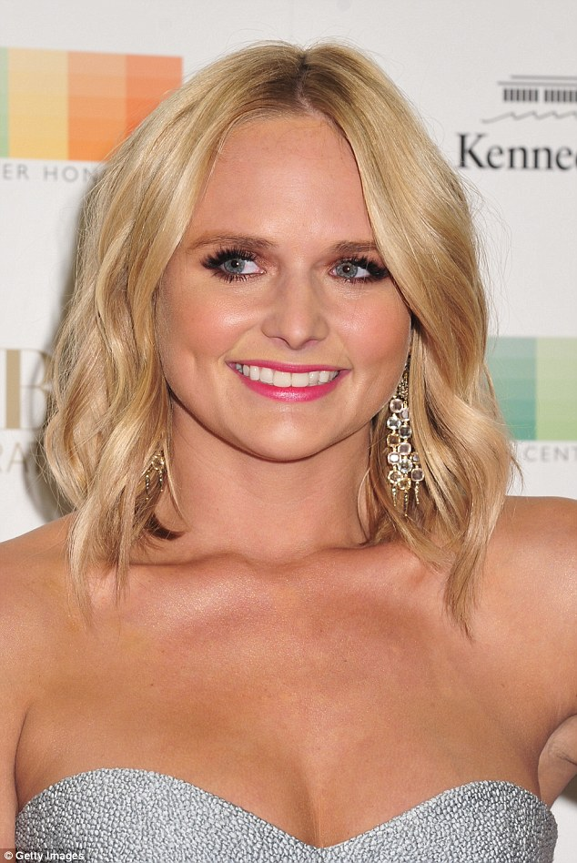 PHOTOS: Country singer Miranda Lambert shines at Kennedy Center Honors