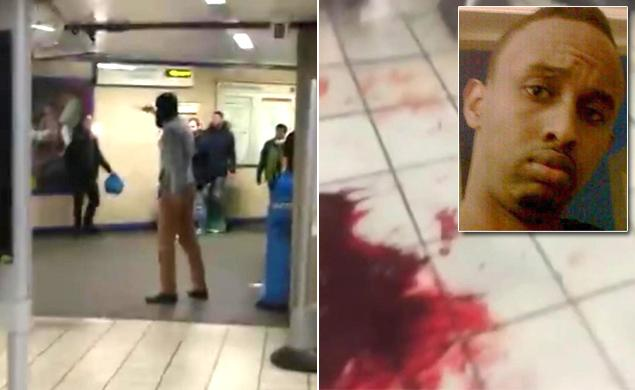 GRAPHIC:  Video of London tube attack surfaces online #YouAintNoMuslimBruv