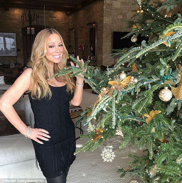 It wouldn't be Christmas without Mariah Carey: PHOTOS