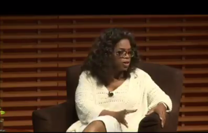 WATCH: Oprah 's Inspirational Message for the Weekend