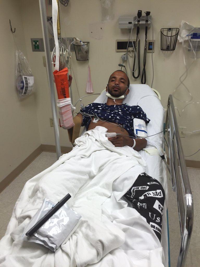 Mohammed SHK severely injured in hoverboard crash