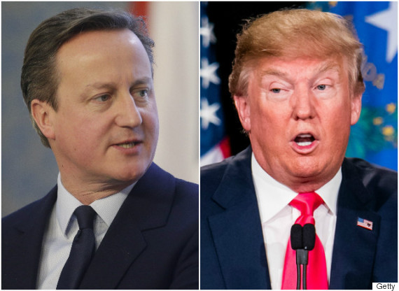 "PM David Cameron accuses Donald Trump of ""Aiding ISIS"" – Watch"