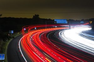 Royalty Free Photo: https://pixabay.com/en/traffic-highway-lights-night-road-332857/