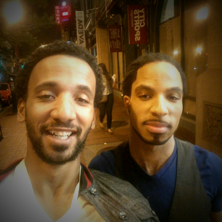 PHOTO OF THE WEEK: SHK crosses paths with Javonni Brustow