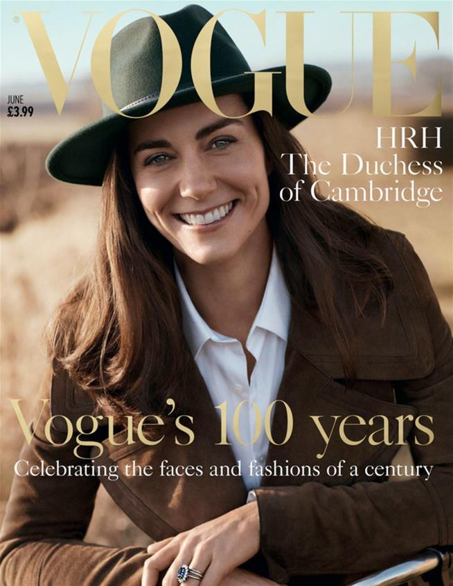 PHOTOS: HRH The Duchess of Cambridge covers British Vogue