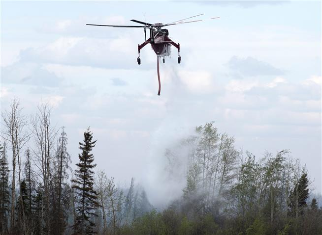 Canadian officials finally have that wildfire under control: Reports