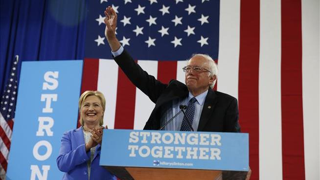 Bernie Sanders finally endorses Hillary Clinton