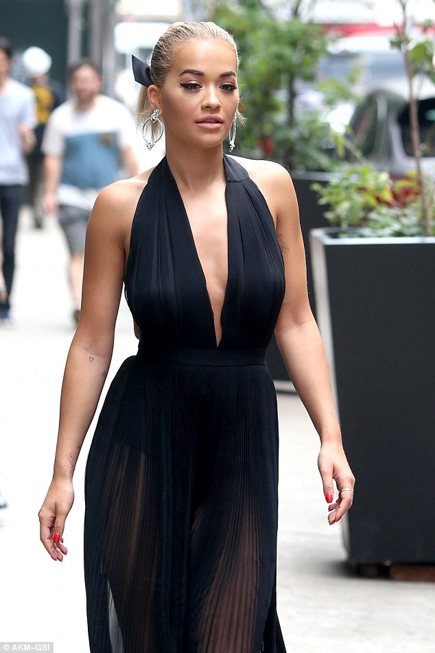 PHOTOS:  Rita Ora cuts a stylish figure in BETTER outfit as she steps out in New York City
