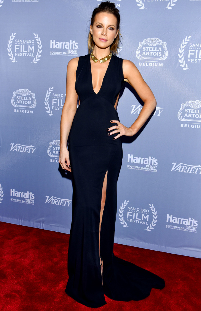 Look of the week: Kate Beckinsale appears at the San Diego International Film Festival
