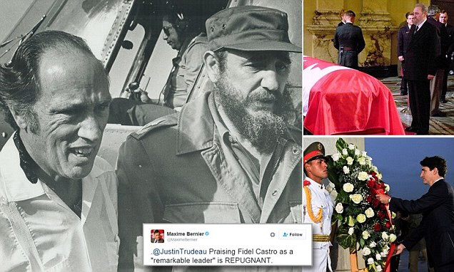 World divided after death of Cuban dictator Fidel Castro