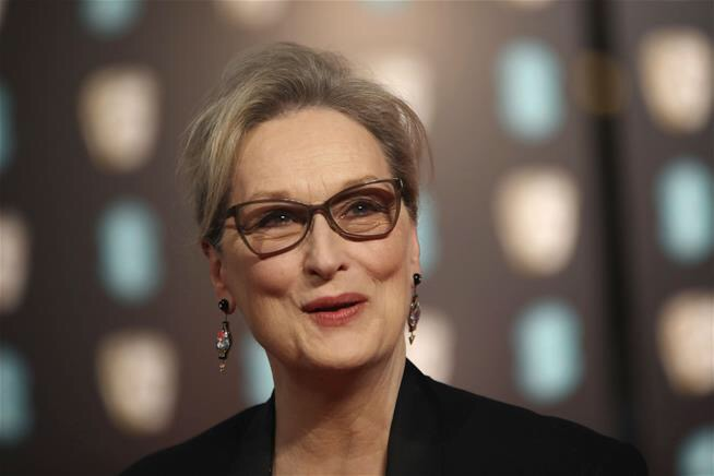 Meryl Streep and Karl Lagerfield are at odds