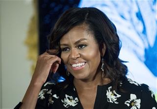 Michelle Obama talks political office; her future, and whether or not she'll run for President