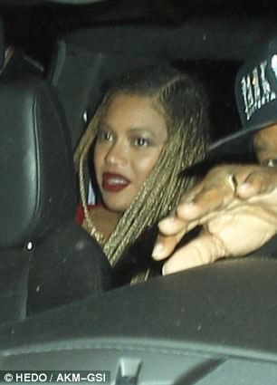 PHOTOS:  Beyonce appears at birthday bash in Los Angeles