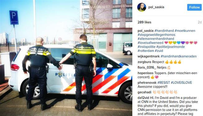 Gay couple attacked in the Netherlands with bolt cutters
