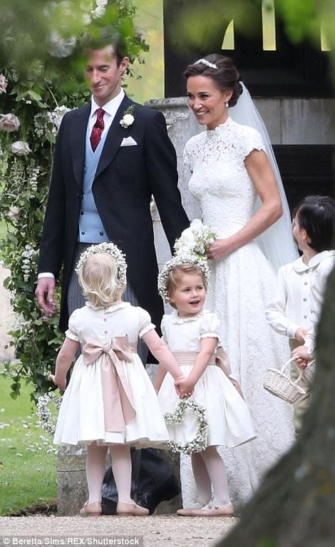 More photos from Pippa Middleton 's glamorous wedding to James Matthews