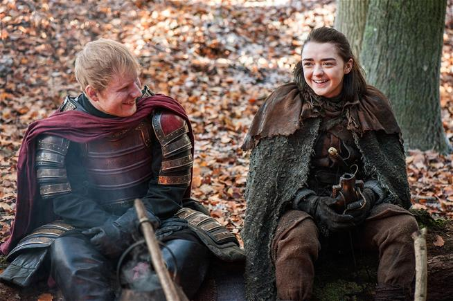 So, Ed Sheeran was in the premiere episode of Game of Thrones