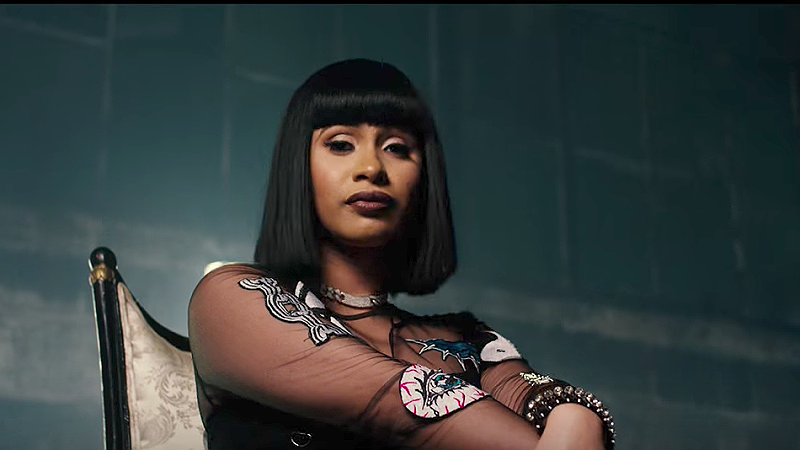 Chicago rapper claims he smashed the panties off Cardi B