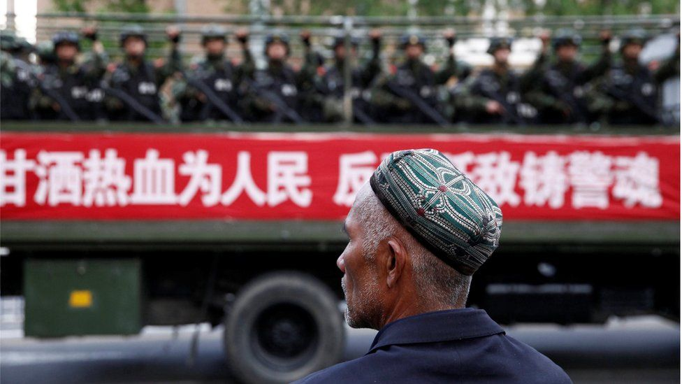 "Chinese  region just ""legalized"" re-education camps: Report"