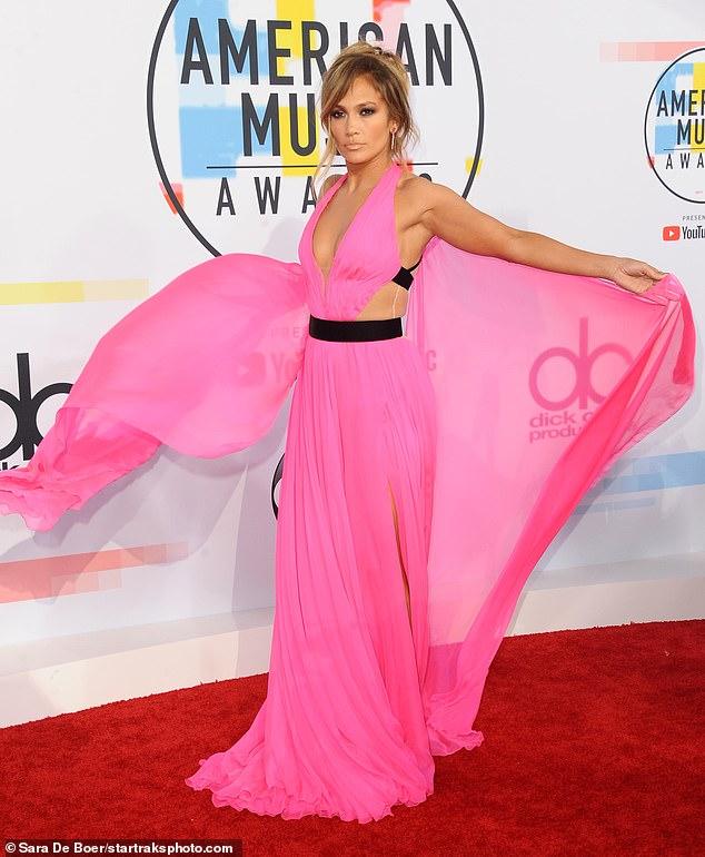 Jennifer Lopez's Star On The Hollywood Walk of Fame — VANDALISED