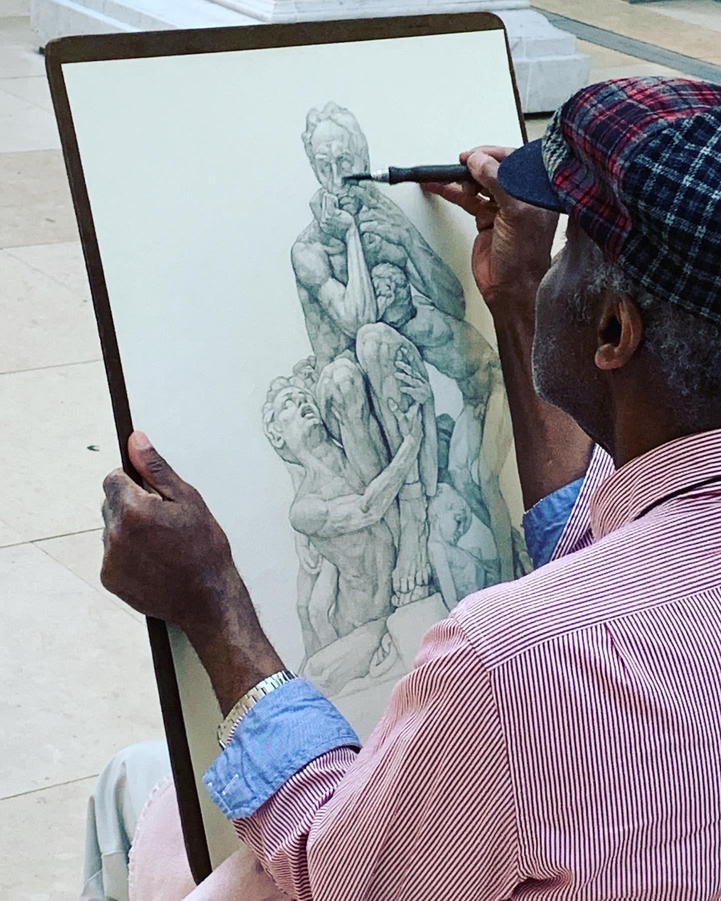 Citizen Photos: Man's stunning portrait of Met Museum artifact catches our eye