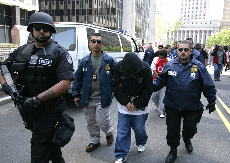 ICE conducted the largest raid it has ever done this week