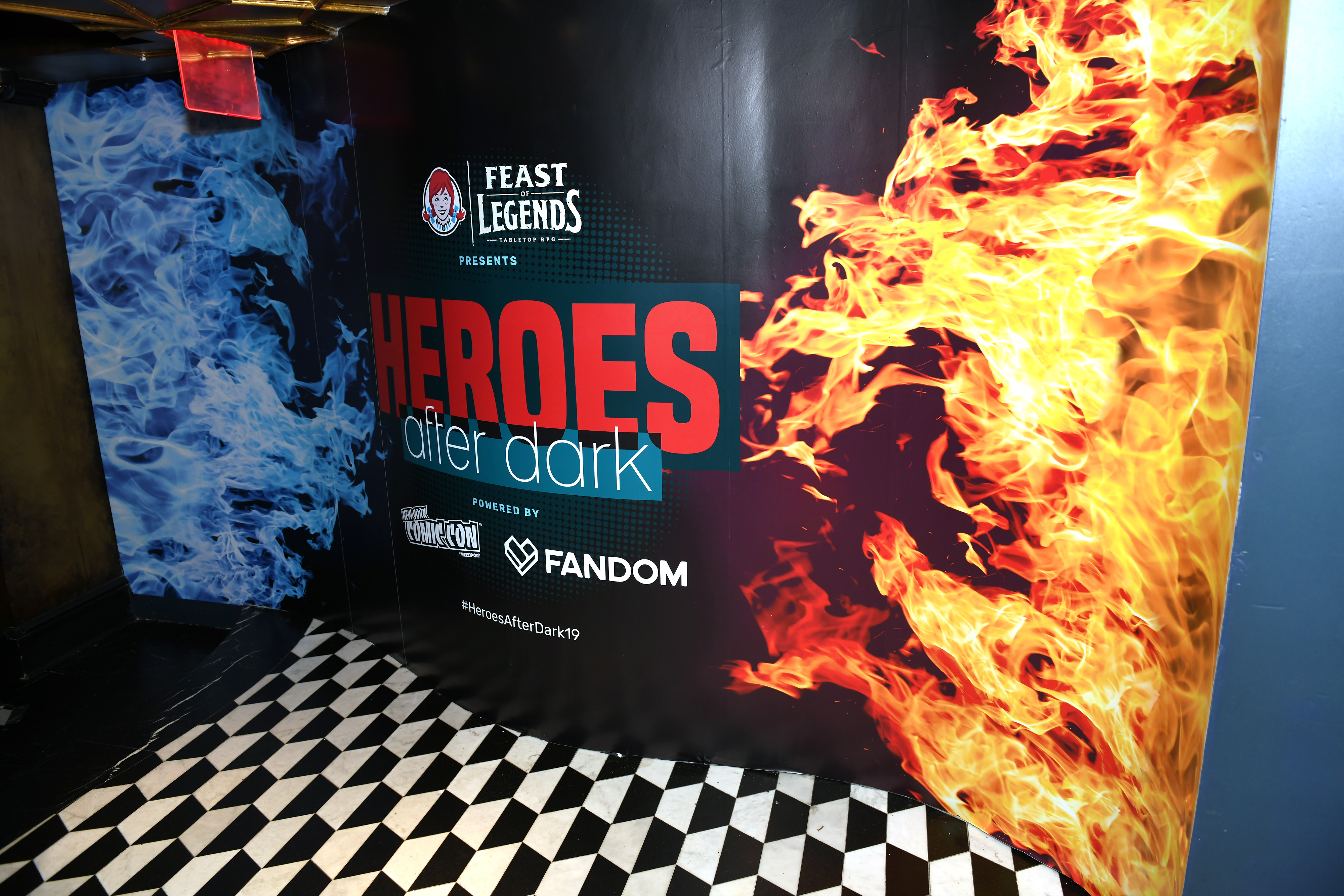 "Wendy's Presents ""Heroes Afer Dark"" Powered By New York Comic Con And Fandom"