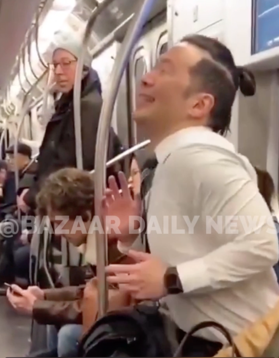 WATCH: These men hilariously performed a Backstreet Boys rendition on the New York City subway