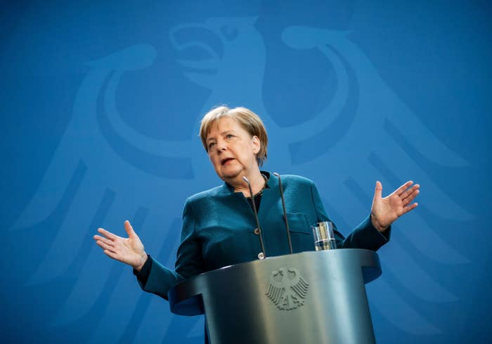 German Chancellor Angela Merkel ordered into quarantine after exposure to the Coronavirus