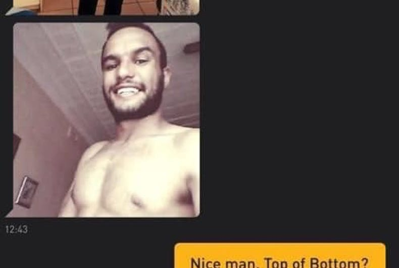 """Right-wing nut job Christian Otto known for being anti-gay, caught cruising Grindr looking """"for a top"""""""