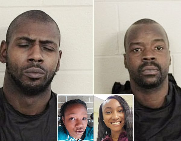 They've found the two men who dumped two young women for dead over a GA bridge