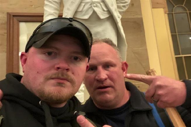 In daring posts  two VA officers bragged about Capitol Riots, now they're under arrest